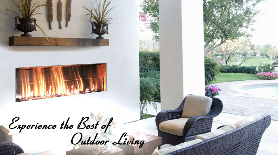 Custom Outdoor Fireplaces, Graysen Woods, Firegear Outdoors, Kingsman