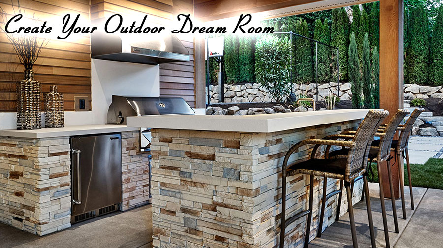Custom Outdoor Kitchens, Outdoor Islands, Graysen Woods