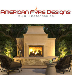 American Fyre Designs, Fireplace