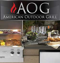 American Outdoor Grill, Custom Outdoor Kitchens