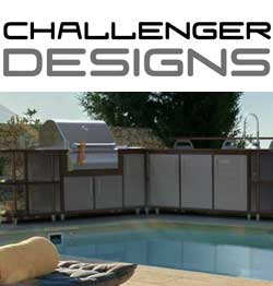 Challenger Designs, Custom Outdoor Kitchens