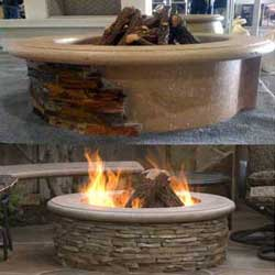Contractor Model, American Fyre Designs Fire Pits, Custom Outdoor Kitchens