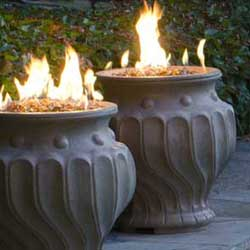 Etruscan Fire Urn, American Fyre Designs Fire Pits, Custom Outdoor Kitchens
