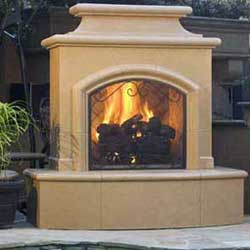 Mariposa Fireplace, American Fyre Designs Fireplaces, Custom Outdoor Kitchens