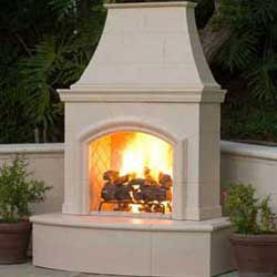 Phoenix Fireplace, American Fyre Designs Fireplaces, Custom Outdoor Kitchens