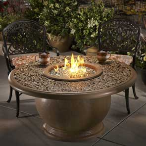 Amphora Firetable, American Fyre Designs Fire Table, Custom Outdoor Kitchens