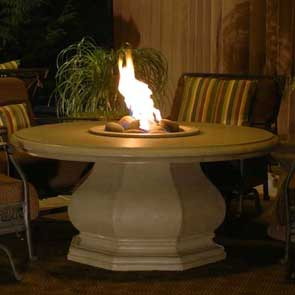 Chat Firetable, American Fyre Designs Fire Table, Custom Outdoor Kitchens