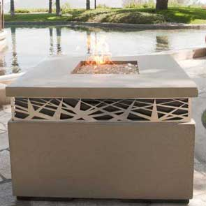 Nest Firetable, American Fyre Designs Fire Table, Custom Outdoor Kitchens