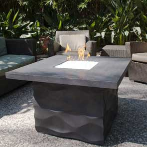 Voro Firetable, American Fyre Designs Fire Table, Custom Outdoor Kitchens
