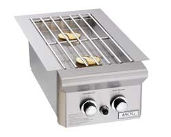 American Outdoor Grill Accessories, Double Side Burner