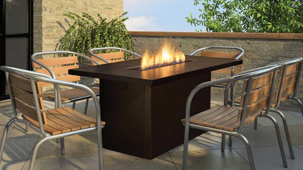 Firegear Outdoors Fireplaces Key West Bar Table