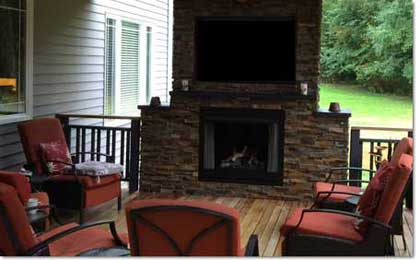 Graysen Woods, Outdoor, Fireplaces