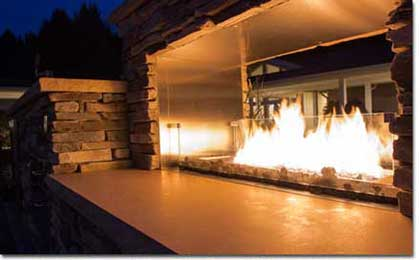 Fireplace Enclosures, Outdoor Fireplace, Graysen Woods