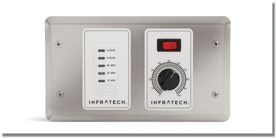Infratech Heating - 1 Zone Controller with Timer
