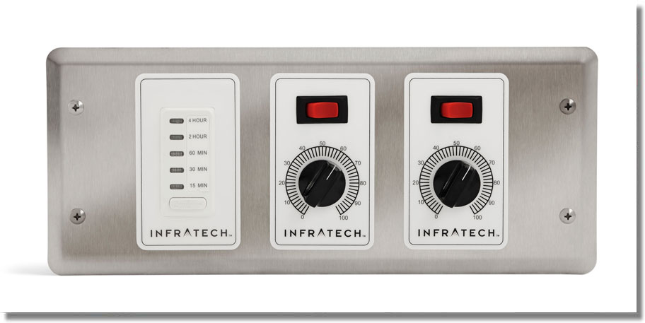 Infratech Heating - 2 Zone Controller with Timer