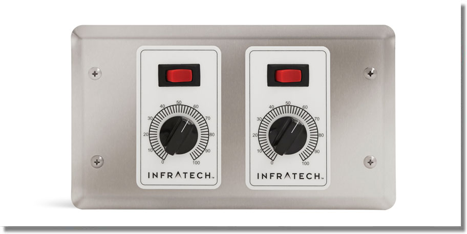 Infratech Heating - 2 Zone Controller