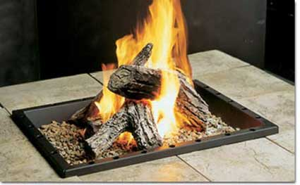 Kingsman Fire Pits, Rectangular Gas Fire Pit