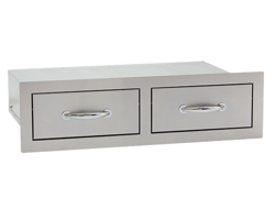 Double Horizontal Drawer by Summerset Grill